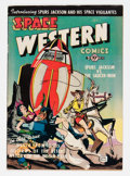 Golden Age (1938-1955):Science Fiction, Space Western #40 (Charlton, 1952) Condition: VF-....