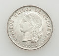 Colombia, Colombia: Medellin 20 Centavos 1885 mint state,...