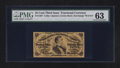 Fractional Currency:Third Issue, Fr. 1297 25¢ Third Issue PMG Choice Uncirculated 63.. ...