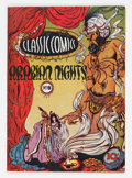 Golden Age (1938-1955):Classics Illustrated, Classic Comics #8 Arabian Nights - First Edition (Gilberton, 1943)Condition: FN/VF....