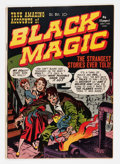 Golden Age (1938-1955):Horror, Black Magic #1 (Prize, 1950) Condition: VF-....