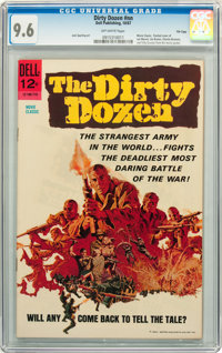 Movie Classics: The Dirty Dozen #nn File Copy (Dell, 1967) CGC NM+ 9.6 Off-white pages