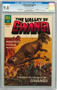 Movie Classics: Valley of Gwangi #nn File Copy (Dell, 1969) CGC NM/MT 9.8 Off-white to white pages