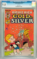 Bronze Age (1970-1979):Humor, Richie Rich Gold and Silver #2 File Copy (Harvey, 1975) CGC NM/MT 9.8 White pages....