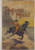 Books:Science Fiction & Fantasy, [Jerry Weist]. Edgar Rice Burroughs. The Moon Maid. New York: Grosset & Dunlap, [1927]. Later edition. Octavo. 4...