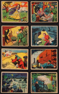 "Non-Sport Cards:Sets, 1939 R156 Gunmakers ""True Spy Stories"" Complete Set (24). ..."
