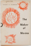 Books:Horror & Supernatural, [Jerry Weist]. Robert W. Chambers. The Maker of Moons.Buffalo: Shroud, 1954. Later edition, first printing. Octavo....