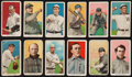 Baseball Cards:Lots, 1909-11 T206 White Border Tobacco Collection (12). ...