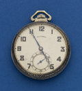 Timepieces:Pocket (post 1900), Illinois 17 Jewel 14k Gold 12 Size Pocket Watch. ...