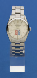 Timepieces:Wristwatch, Rolex Dominos Oyster Perpetual Air King, Ref. 5500, circa 1987. ...