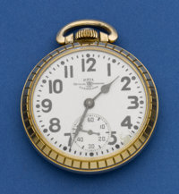 Ball 992 B 21 Jewel Pocket Watch