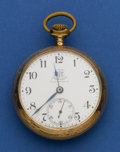 Timepieces:Pocket (post 1900), Ball Rare Official B of RT Standard 17 Jewel Pocket Watch. ...