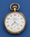 Timepieces:Pocket (post 1900), Thos Russell & Son Liverpool (Swiss) 17 Jewel Pocket Watch. ...