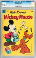 Golden Age (1938-1955):Funny Animal, Mickey Mouse #34 (Dell, 1954) CGC NM+ 9.6 Cream to off-whitepages....