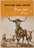 Books:Signed Editions, Tom Lea. SIGNED. Western Beef Cattle, A Series of Paintings by Tom Lea. State Fair of Texas [Dallas]: Dallas Mus...