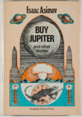 Books:Science Fiction & Fantasy, [Jerry Weist]. Isaac Asimov. Buy Jupiter and Other Stories. Garden City: Doubleday, 1975. First edition, first print...