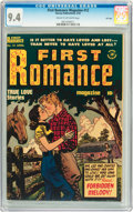 Golden Age (1938-1955):Romance, First Romance #12 File Copy (Harvey, 1952) CGC NM 9.4 Cream tooff-white pages....