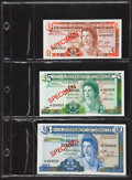Banknotes From Around the World - Specimens