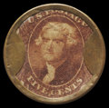 Encased Postage: , HB-33 EP-63 Reed-AS05MD 5¢ Ayer's Sarsaparilla Extremely Fine-AboutNew.. ...