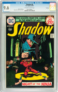 Bronze Age (1970-1979):Miscellaneous, The Shadow #6 File Copy (DC, 1974) CGC NM+ 9.6 Off-white to whitepages....