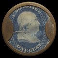 Encased Postage: , HB-50 EP-6 Reed-BA01F/G 1¢ Joseph L. Bates Fancy Goods Choice About New.. ...