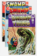 Bronze Age (1970-1979):Horror, Swamp Thing Group (DC, 1972-76) Condition: Average FN- except asnoted.... (Total: 22 Comic Books)