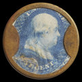 Encased Postage: , HB-49 EP-6a Reed-BA01FG 1¢ Joseph L. Bates Fancygoods Extremely Fine.. ...