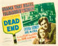 "Movie Posters:Crime, Dead End (United Artists, 1937). Title Lobby Card (11"" X 14"").. ..."