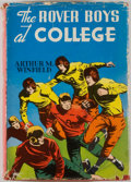 Books:Children's Books, Arthur M. Winfield. The Rover Boys at College. Racine: Whitman, [1910]. Octavo. 292 pages. Publisher's binding and d...