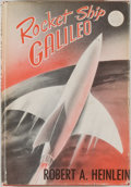 Books:Science Fiction & Fantasy, Robert A. Heinlein. Rocket Ship Galileo. New York: Charles Scribner's Sons, [1947]. Later impression. Octavo. 212 pa...