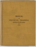 Books:Americana & American History, [United States Army]. Manual of Physical Training For Use In theUnited States Army. Washington: Government Prin...