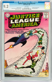 Justice League of America #17 (DC, 1963) CGC NM- 9.2 White pages
