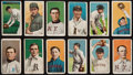 """Baseball Cards:Lots, 1909-11 T206 White Border Tobacco Collection (12) - All """"Sovereign""""Brand Backs! ..."""
