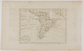 Books:Maps & Atlases, Lovely Engraved Map of South America. [London]: Harrison, 1785. Measures 10 x 16.5 inches. Two fold lines. Minor type burn a...