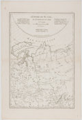 Books:Maps & Atlases, [Rigobert] Bonne. Copper Engraved Map of Russia. Paris: [ca. 1787]. Measures 16.75 x 11.5 inches. Minor toning to edges with...