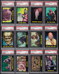 "Non-Sport Cards:Sets, 1964 Topps ""Outer Limits"" PSA-Graded Complete Set (50). ..."