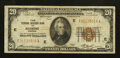 Small Size:Federal Reserve Bank Notes, Fr. 1870-E $20 1929 Federal Reserve Bank Note. Fine-Very Fine.. ...