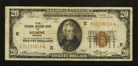 Fr. 1870-E $20 1929 Federal Reserve Bank Note. Fine-Very Fine