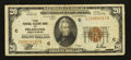 Small Size:Federal Reserve Bank Notes, Fr. 1870-C $20 1929 Federal Reserve Bank Note. Fine-Very Fine.. ...