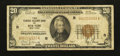 Small Size:Federal Reserve Bank Notes, Fr. 1870-B $20 1929 Federal Reserve Bank Note. Fine.. ...