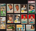 Baseball Cards:Lots, 1950's-1980's Baseball Card Collection (500+) with Stars andHoFers. ...