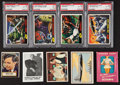 Non-Sport Cards:Lots, 1950's-60's Non-Sports Collection (76) With PSA-Graded MarsAttacks. ...