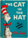 Books:Children's Books, Dr. Seuss [Theodor Geisel]. The Cat in the Hat. [New York]:Random House, [1957]. First edition, first issue...