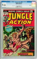 Bronze Age (1970-1979):Adventure, Jungle Action #4 Savannah pedigree (Marvel, 1973) CGC NM+ 9.6 Cream to off-white pages....