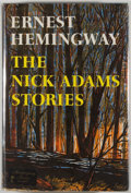 Books:Fiction, Ernest Hemingway. The Nick Adams Stories. New York: CharlesScribner's Sons, [1972]. First edition, first printi...