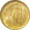 Commemorative Gold: , 1926 $2 1/2 Sesquicentennial MS65 NGC. Attractive peach andgreenish-gold toning attests to the originality of this lustrou...