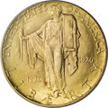 Commemorative Gold: , 1926 $2 1/2 Sesquicentennial MS65 PCGS. Vivacious luster sweepsthis well struck and reasonably preserved Sesquicentennial ...