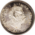 Coins of Hawaii: , 1883 10C Hawaii Ten Cents PR63 NGC. KM-3. The strike is razor-sharp with nicely frosted devices and small, but noticeable m...