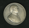 """Betts Medals: , """"1779"""" Captain John Paul Jones Medal Uncirculated, Edge FiledUncertified. 56mm. Silver. A French restrike of Betts-568 from..."""