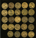 U.S. Presidents & Statesmen: , Presidential Medals. Circa 1920s to 1940s. Two dozen 33 mm. medalsof United States Mint origin. Some duplicates are included, t...(Total: 24 medals)